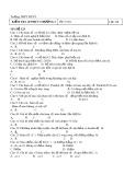Kiểm tra 45 phút chương I môn Toán lớp 12