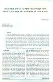 Phân tích dân số và phát triển ở Việt Nam: Những khác biệt, bất bình đẳng và thách thức