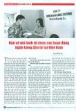 Bàn về mô hình tổ chức các hoạt động ngân hàng đầu tư tại Việt Nam