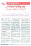 Quản trị quan hệ khách hàng thực trạng và giải pháp cho các ngân hàng thương mại Việt Nam
