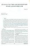 Kế toán quản trị - Từ khía cạnh lợi ích doanh nghiệp đến khía cạnh trách nhiệm xã hội