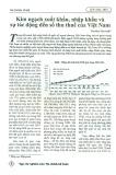 Kim ngạch xuất khẩu, nhập khẩu và sự tác động đến số thu thuế của Việt Nam