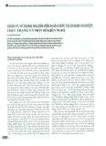 Quản lý, sử dụng nguồn vốn nhà nước tại doanh nghiệp: Thực trạng và một số kiến nghị