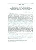 Vận dụng lý thuyết về vốn xã hội trong nghiên cứu vai trò của vốn xã hội đối với sự phát triển doanh nghiệp