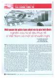 Mối quan hệ giữa lạm phát và tỷ giá hối đoái: Nghiên cứu từ số liệu thực tế ở Việt Nam và một số khuyến nghị
