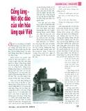 Cổng làng - Nét độc đáo của văn hóa làng quê Việt