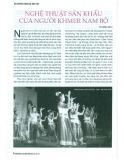 Nghệ thuật sân khấu của người Khmer Nam bộ