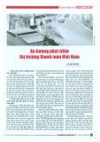 Xu hướng phát triển thị trường thanh toán Việt Nam