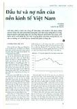 Đầu tư và nợ nần của nền kinh tế Việt Nam