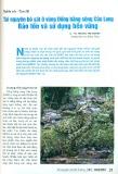 Tài nguyên bò sát ở vùng đồng bằng Sông Cửu Long - Bảo tồn và sử dụng bền vững