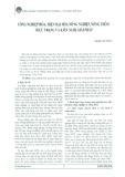 Công nghiệp hóa, hiện đại hóa nông nghiệp, nông thôn: Thực trạng và kiến nghị giải pháp