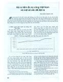 Rủi ro tiềm ẩn nợ công Việt Nam và một số vấn đề đặt ra