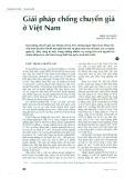 Giải pháp chống chuyển giá ở Việt Nam
