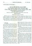 Xưng hô trong giao tiếp vợ chồng nông dân người Việt (Trên cứ liệu một số tác phẩm Văn học giai đoạn 1930 - 1945)
