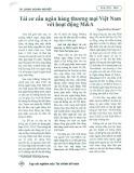 Tái cơ cấu ngân hàng thương mại Việt Nam với hoạt động M&A