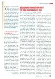 Điều kiện đảm bảo nguồn vốn đầu tư cho công nghiệp hóa tại Việt Nam