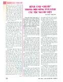 """Hình ảnh """"chuối"""" trong đời sống tâm linh các tộc người Việt"""