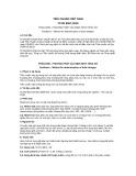 Tiêu chuẩn Việt Nam TCVN 8557:2010