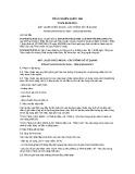Tiêu chuẩn Quốc gia TCVN 8673:2011