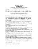 Tiêu chuẩn Quốc gia TCVN 8911:2012