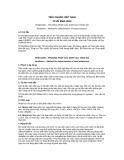 Tiêu chuẩn Việt Nam TCVN 8562:2010