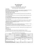 Tiêu chuẩn ngành 28 TCN 119:1998