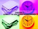 Bài giảng môn học Nhập môn tài chính: Chương 3 - ThS. Chu Thị Thu Thủy