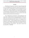 Tiểu luận tốt nghiệp: Đánh giá hiệu quả hệ thống xử lý nước thải ở công ty cổ phần thức ăn thủy sản Vĩnh Hoàn 1