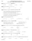 Chuyên đề khảo sát hàm số 40 câu trắc nghiệm chuyên đề khảo sát hàm số