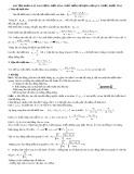 Bài tập khảo sát dao động điều hòa chất điểm sử dụng hệ quy chiếu khối tâm
