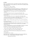 5 dạng bài tập ôn thi Kế toán tài chính