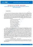Văn mẫu lớp 12: 5 bài văn mẫu phân tích hình tượng người lính trong bài thơ Tây tiến