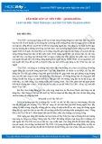 Văn mẫu lớp 12: 5 bài văn mẫu phân tích đoạn 1 bài thơ Tây Tiến của Quang Dũng