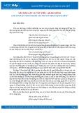 Văn mẫu lớp 12: 6 bài văn mẫu phân tích khổ 3 bài thơ Tây Tiến của Quang Dũng