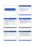 Bài giảng Kinh tế lượng: Bài 1 - Lê Minh Tiến