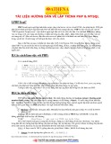 Tài liệu hướng dẫn về lập trình PHP & MYSQL