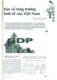 Bàn về tăng trưởng kinh tế của Việt Nam
