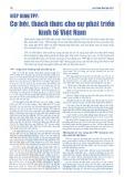 Hiệp định TPP: Cơ hội, thách thức cho sự phát triển kinh tế Việt Nam