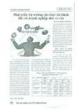 Phát triển thị trường cho thuê tài chính đối với doanh nghiệp nhỏ và vừa