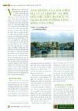 Ảnh hưởng của đặc điểm địa lý và kinh tế - xã hội đến việc tiếp cận dịch vụ ngân hàng ở đồng bằng Sông Cửu Long