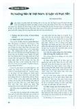 Thị trường tiền tệ Việt Nam: Lý luận và thực tiễn