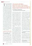 Ứng dụng mô hình kinh tế lượng vĩ mô trong công tác phân tích, dự báo và hoạch định chính sách tiền tệ
