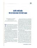 Bước khởi đầu tái cơ cấu kinh tế ở Việt Nam