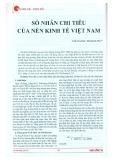 Số nhân chi tiêu của nền kinh tế Việt Nam