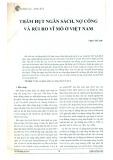 Thâm hụt ngân sách, nợ công và rủi ro vĩ mô ở Việt Nam