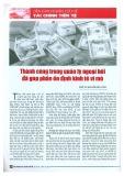 Thành công trong quản lý ngoại hối đã góp phần ổn định kinh tế vĩ mô