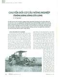 Chuyển đổi cơ cấu nông nghiệp ở đồng bằng Sông Cửu Long