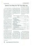 Quản lý nợ công của Việt Nam hiện nay