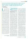 Xây dựng bộ quy tắc đạo đức kinh doanh trong lĩnh vực ngân hàng ở Việt Nam: Thực trạng và một số khuyến nghị