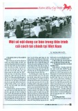 Một số nội dung cơ bản trong tiến trình cải cách tài chính tại Việt Nam